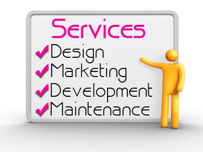 Services - Design Marketing Development Maintenance