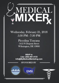 Medical Mixer Invitation