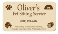 Oliver's Pet Sitting Services