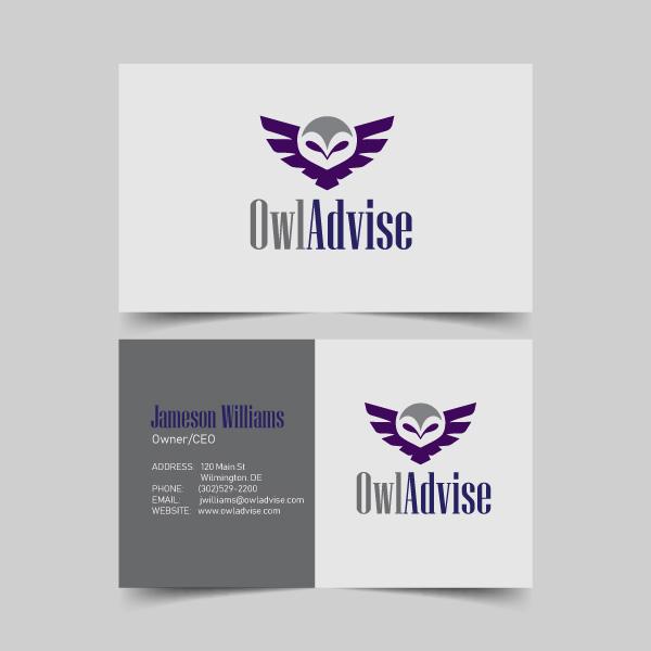 Brochures business cards techie web designs owladvise business cards colourmoves
