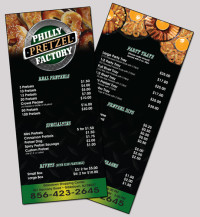 Philly Pretzel Brochure