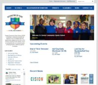 CCCS Website Redesign and Organization